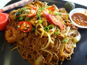 Berseh Food Centre Fried mee Hoon