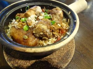 Heun Kee Claypot Chicken rice