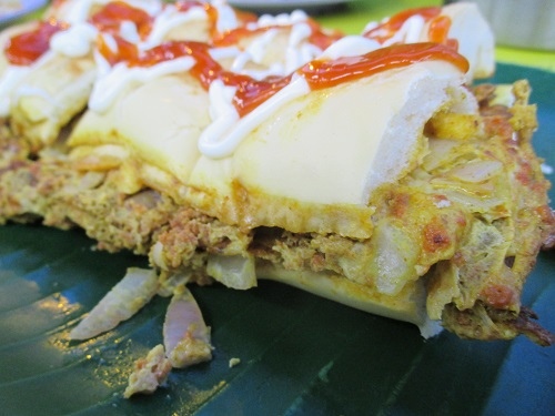 Suriya curry house roti john 2