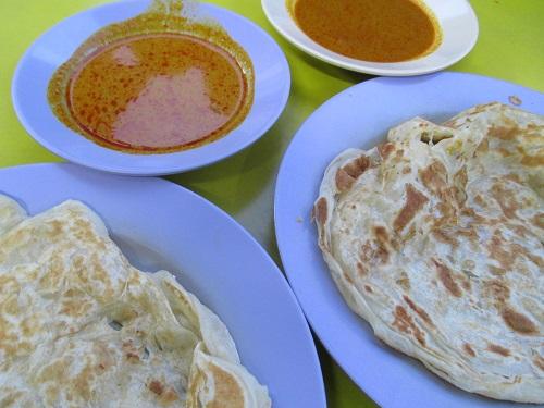 Suriya curry house roti john 6