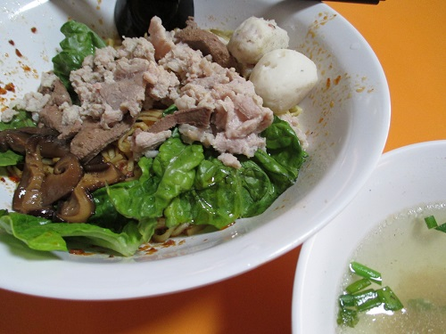 yong hua handmade fishball noodle 4