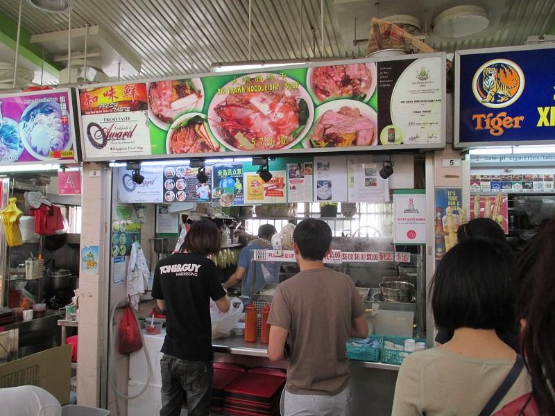 Taste Fresh big prawn noodle 1