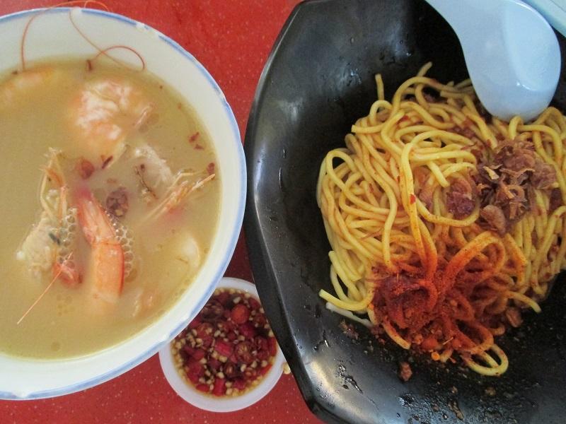 Taste Fresh big prawn noodle 2