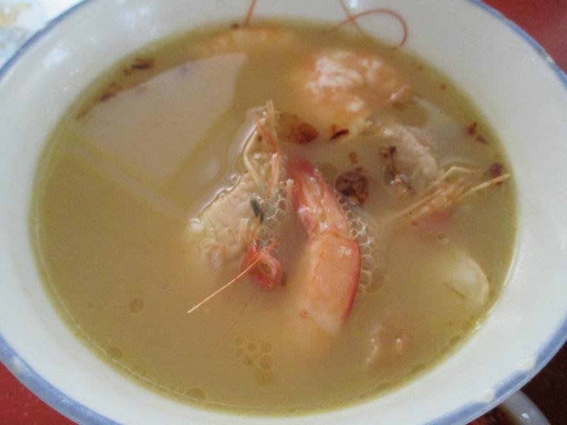 Taste Fresh big prawn noodle 3