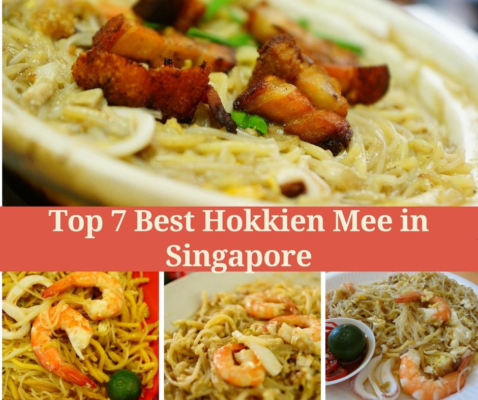 Top 7 Best Hokkien Mee In Singapore