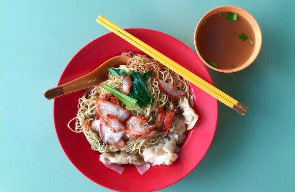 Wonton noodles from Dover Road Kai Kee Wanton Mee