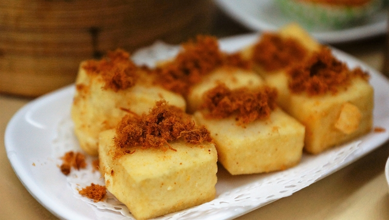 Swee Choon dim Sum fried tofu
