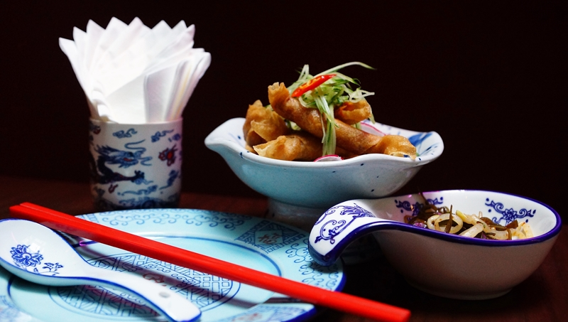 Xiao Ya Tou crispy otah rolls