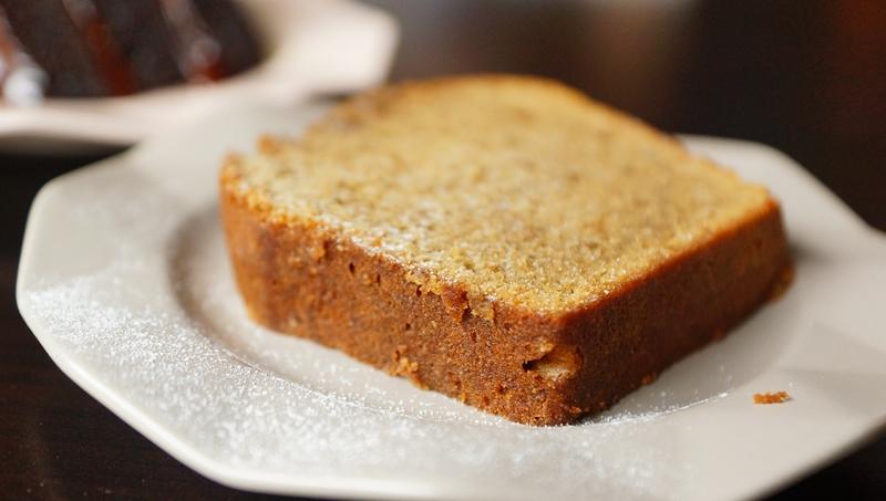 Whisk & Paddle earl grey lemon pound cake