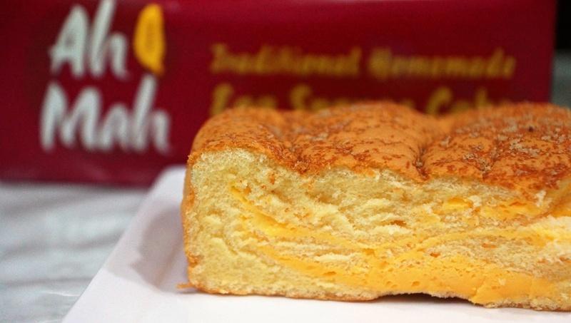 Ah Mah Traditional Homemade Egg Sponge Cake