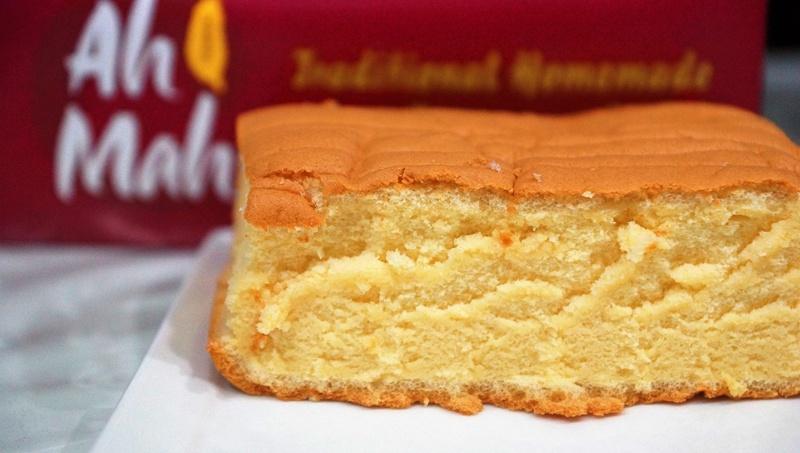 Ah Ma Traditional Homemade Egg Sponge Cake