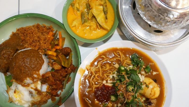 Hajjah Mariam Café Menu Selections